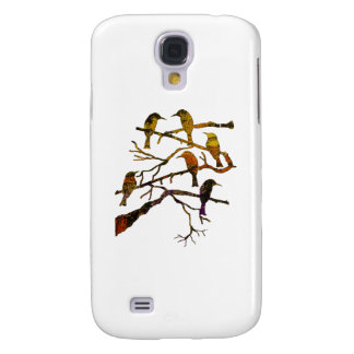 Ravens in the Mist Galaxy S4 Cover