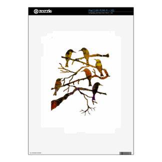 Ravens in the Mist iPad 2 Decals