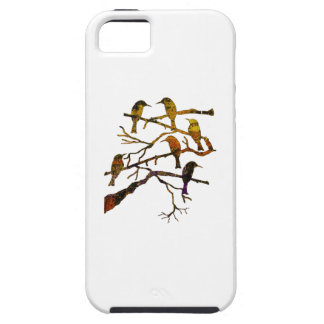 Ravens in the Mist iPhone SE/5/5s Case