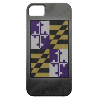 ravens maryland flag inner harbor map iphone case iPhone 5 cases