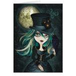 Raven's Moon Card