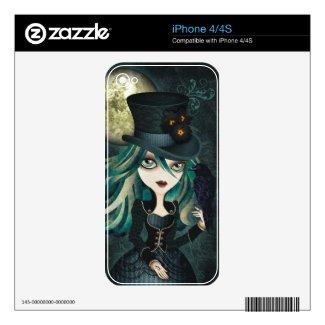 Raven's Moon iPhone Skin musicskins_skin