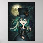 Raven's Moon Wall Art Poster