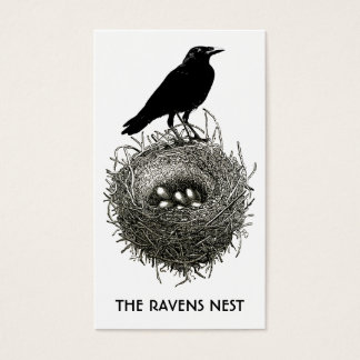 Raven's Nest Business Or Profile Cards