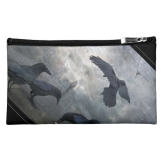 Ravens play with lost Time Cosmetic Bag