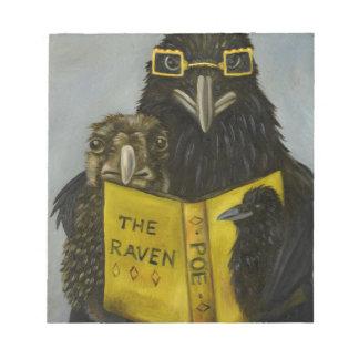 Ravens Read Notepad