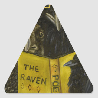 Ravens Read Triangle Sticker
