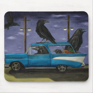 Ravens' Ride Mouse Pad