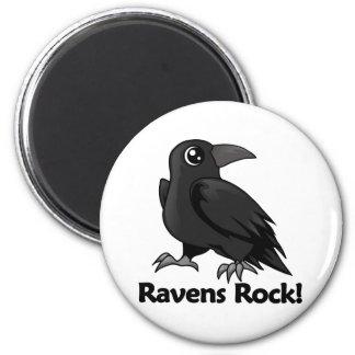 Ravens Rock! 2 Inch Round Magnet