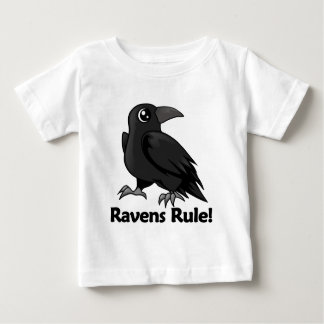 Ravens Rule! Baby T-Shirt