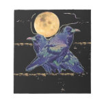 Ravens Spooky Moon by Sharles Scratch Pad