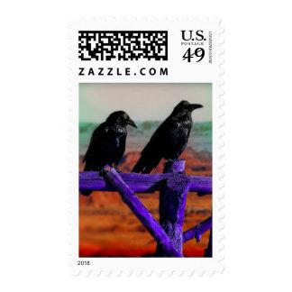 Ravens Stamp