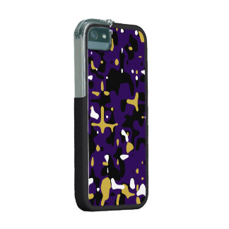 Ravens Team Colors Camouflage iPhone 5 Case