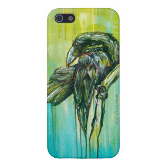 Raven's Writing Desk iPhone SE/5/5s Cover
