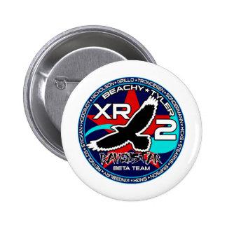 Ravenstar mk1 Beta Team Pinback Button
