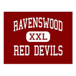 Ravenswood - Red Devils - High - Ravenswood Postcard
