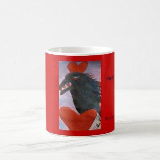 ravenvalentine, Happy Valentines Day, Designed ... Coffee Mug