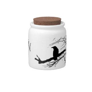 Ravenware by Alexandra Cook aka Linandara Candy Jars