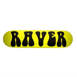 RAVER Deck Custom Skateboard