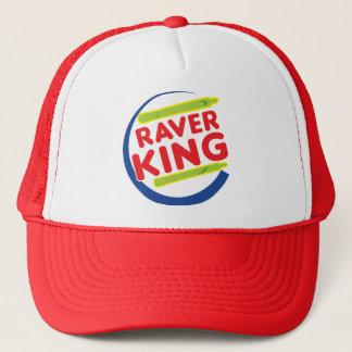 Raver King Trucker Hat