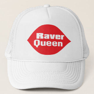 Raver Queen Trucker Hat