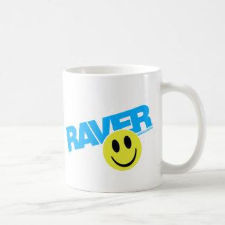 Raver Smilie - DJ Clubbing Rave Party Music Coffee Mug