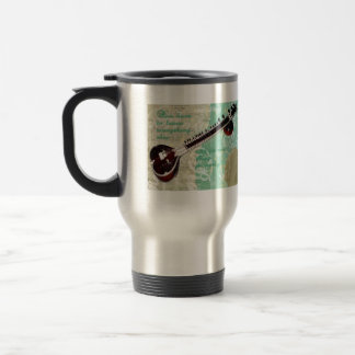 Ravi Shankar Tribute To Sitar and Indian Music Coffee Mugs