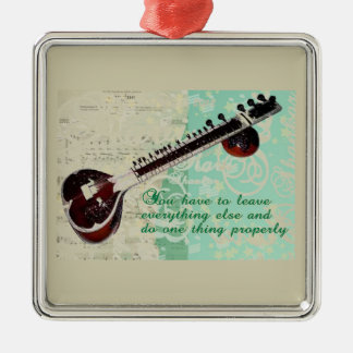 Ravi Shankar Tribute To Sitar and Indian Music Ornament