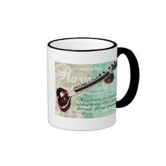 Ravi Shankar Tribute To Sitar and Indian Music Ringer Mug