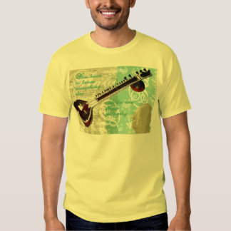 Ravi Shankar Tribute To Sitar and Indian Music T-shirt