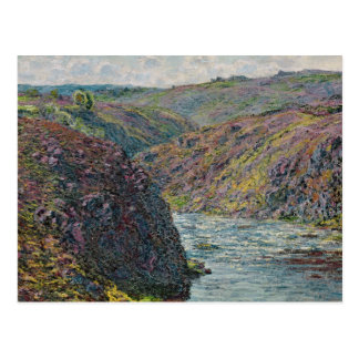 Ravines of the Creuse at the End of the Day Postcard