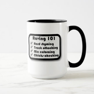 Raving 101 Scooter mug 2