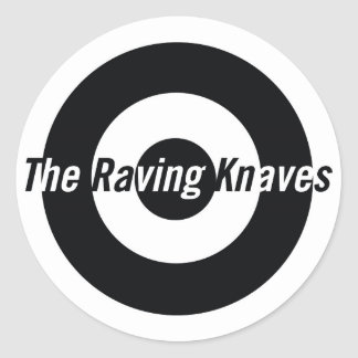 Raving Knaves Classic Round Sticker