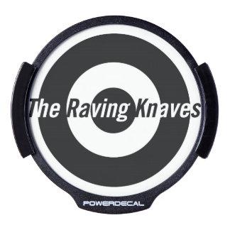 Raving Knaves LED Power Decal