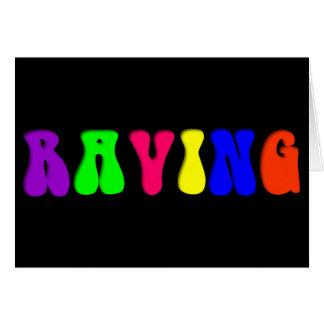 RAVING Rainbow Card