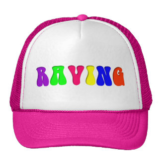 RAVING Rainbow Trucker Hat