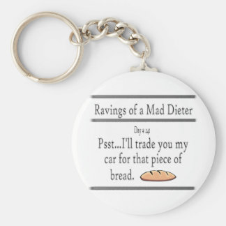 Ravings of a Mad Dieter_Bread Keychain