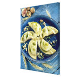 Ravioles with Bleu d'Auvergne For use in USA Gallery Wrap Canvas
