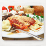 Ravioli And Meatballs Mousepad