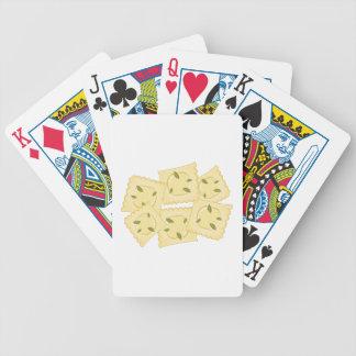 Ravioli Pasta Bicycle Playing Cards
