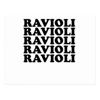 ravioli ravioli tee shirt.png postcard