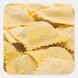 ravioli square sticker