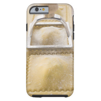 Ravioli with pastry cutter, close up tough iPhone 6 case