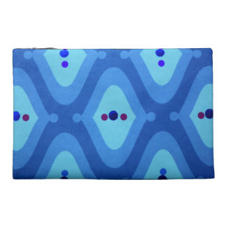 Ravishing Blue Travel Accessory Bag