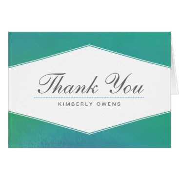 Professional Business Ravishing | Personalized Thank You Note Card