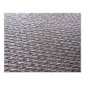 Raw Carbon Fiber Textured Card