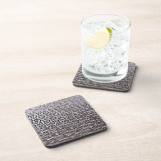 Raw Carbon Fiber Textured Drink Coaster