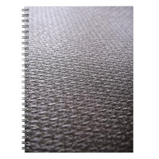 Raw Carbon Fiber Textured Notebook