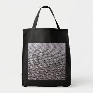 Raw Carbon Fiber Textured Tote Bag