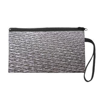 Raw Carbon Fiber Textured Wristlet